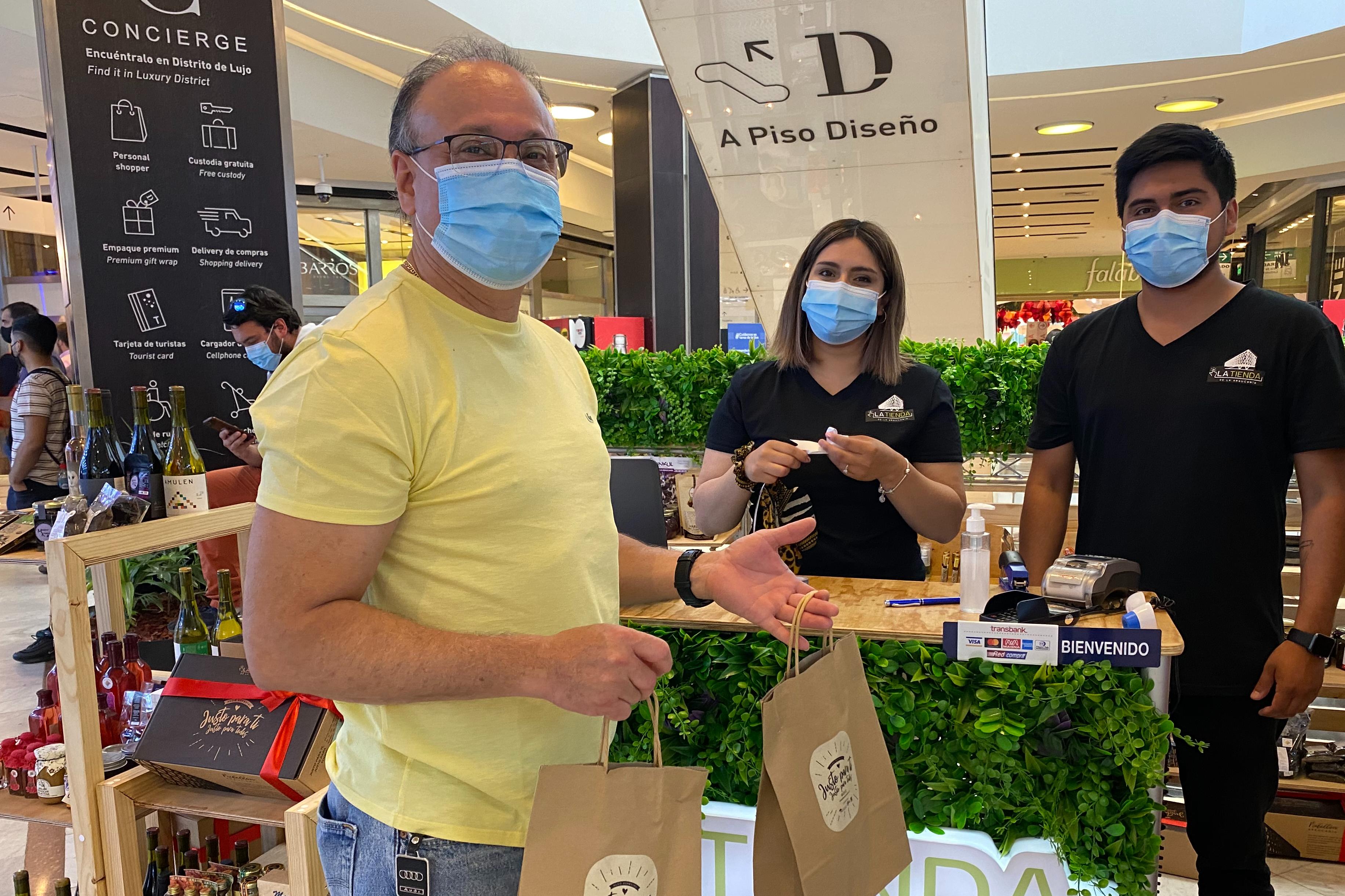 Tienda de La Araucanía seguirá de gira y llevará sus mejores productos al Mall Marina de Viña del Mar