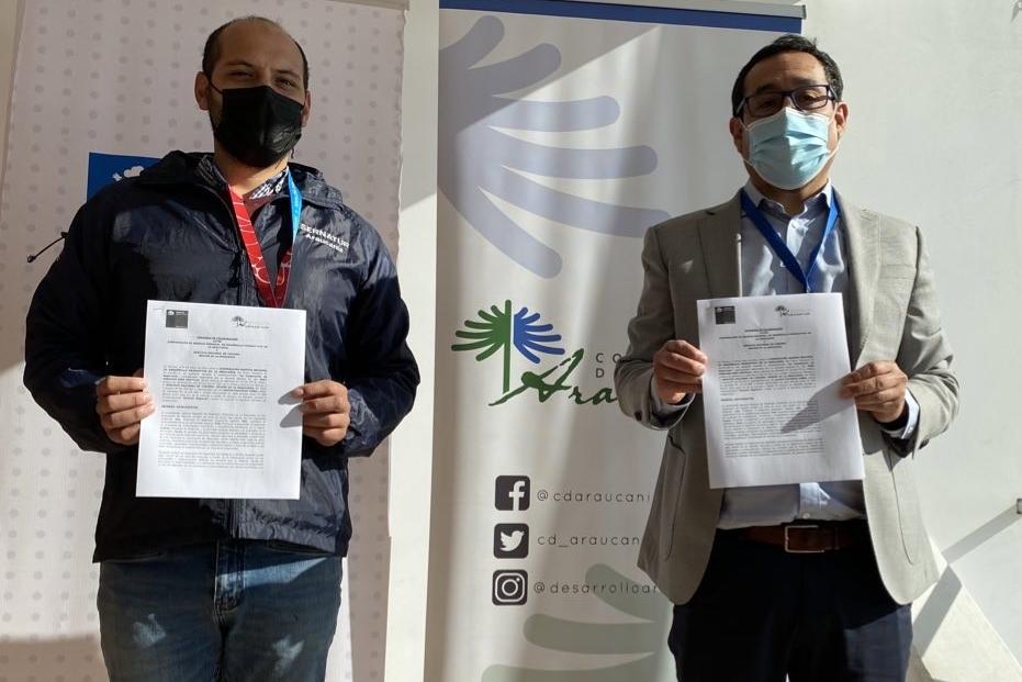 Sernatur y la Corporación de Desarrollo Araucanía firman convenio de colaboración para fortalecer acciones vinculadas al turismo local