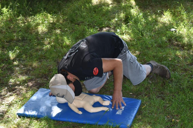 Guías boteros de la cuenca del río Toltén participaron en curso de primeros auxilios